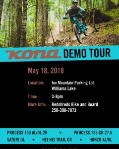 Kona Bikes Demo Tour @ Fox Mtn Trailhead | Williams Lake | British Columbia | Canada